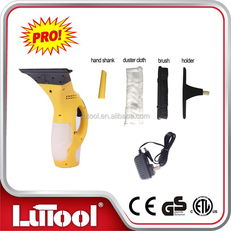 LUTOOL DC 3.6v Cordless window vacuum cleaner battery operated glass cleaner
