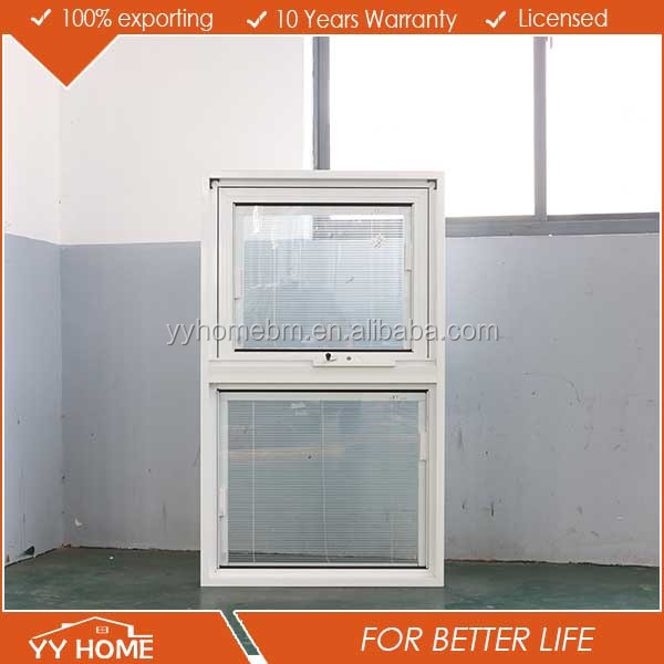 YY Home Aluminum Alloy Frame Top Hung Casement Opening Outwards Window