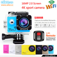 2016 Allwinner V3 WIFI yi 4K Action camera pro Extreme Cam Diving go waterproof Sport Camera xdv