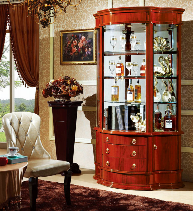 Fashionable glass showcase furniture display cabinet for living room design buy fashionable - Glass showcase designs for living room ...