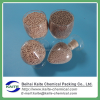 Molecular sieve zeolite 4A round for natural gas desiccating and refining