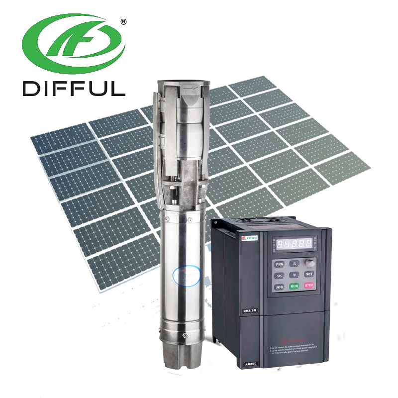 hot sale solar deep well pump/submersible electric water pump
