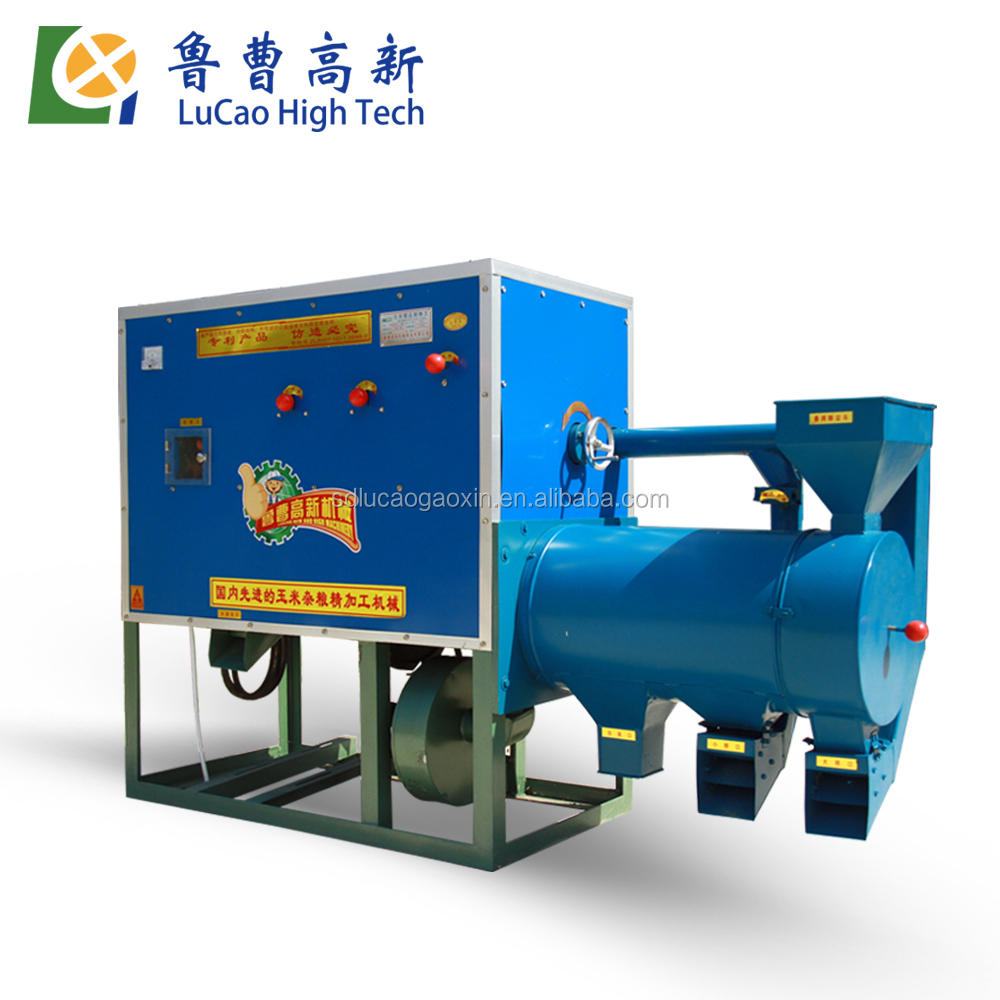 China manufacturer lucao 6FW-D1 diesel maize milling machine
