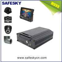 SafeSky 4 channel D1 basic mobile DVR without 3g GPS WIFI