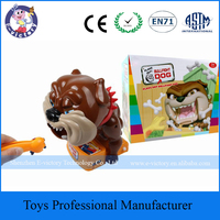 Novelty Toys CAUTION Vicious Dog Creative Kids Tricky Toy Beware of The Bullfight Dog Parent-child Interaction Game