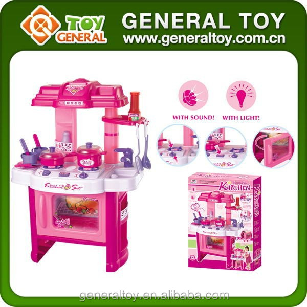 Kid kitchen sat toy kitchen play set