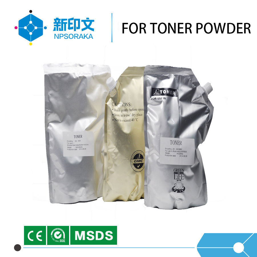 U.S.A Static control color toner powder compatible for Hp universal toner powder for hp 1215 1515 1518