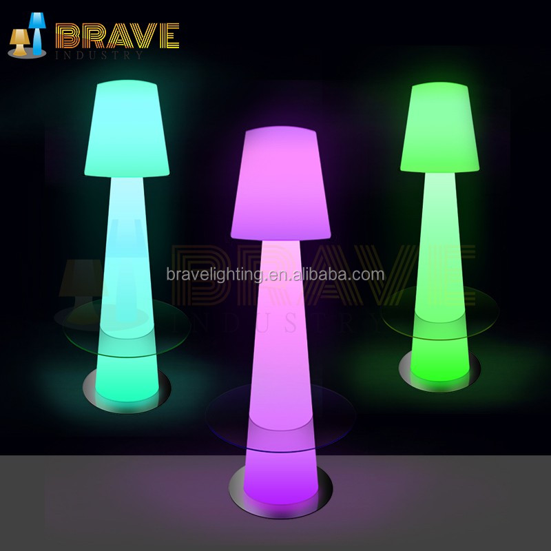 can connect the bluetooth speakers to play music floor lamp,Indoor Remote Control Color Changing Cordless Led Floor Lamp