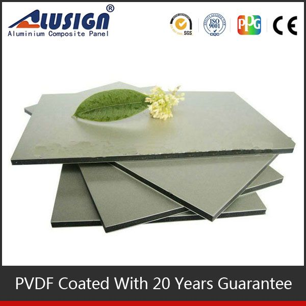 Alusign long guarantee building material acp good price natural stone veneer / flexible stone sheets
