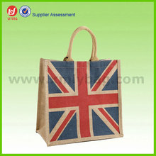 Beauty Eco Friendly Jute Wine Bottle Shopping Bag