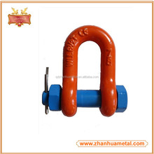 China Supplier Spraying Plastic Forged Adjustable D Shackle