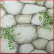 Natural stone wallpaper/ 3d stone wall paper