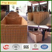 MIL1-MIL12 Sand Filled Hesco Barrier Military Security Hesco Barrier CIQ BV SGS