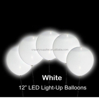 Led White Balloons For Wedding And