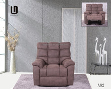Heated fabric recliner/reclining single seater sofa chairs #A07