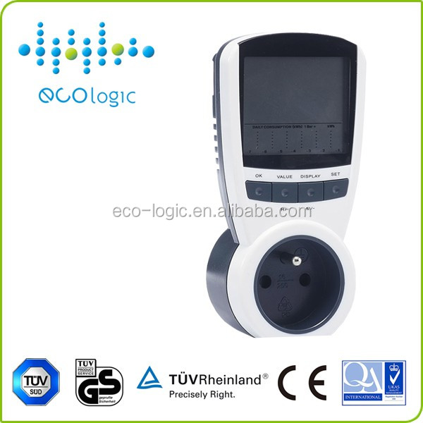 single phase digital wireless smart energy meter with large LCD display