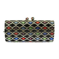 2015 bling party clutch bag wholesale handmade handbag