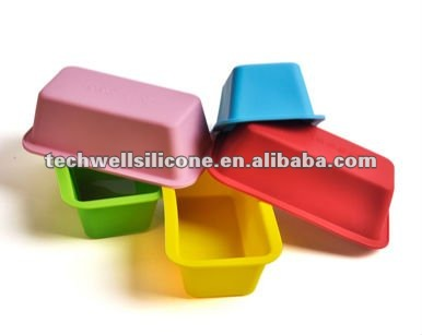 colorful baking tray silicone mould