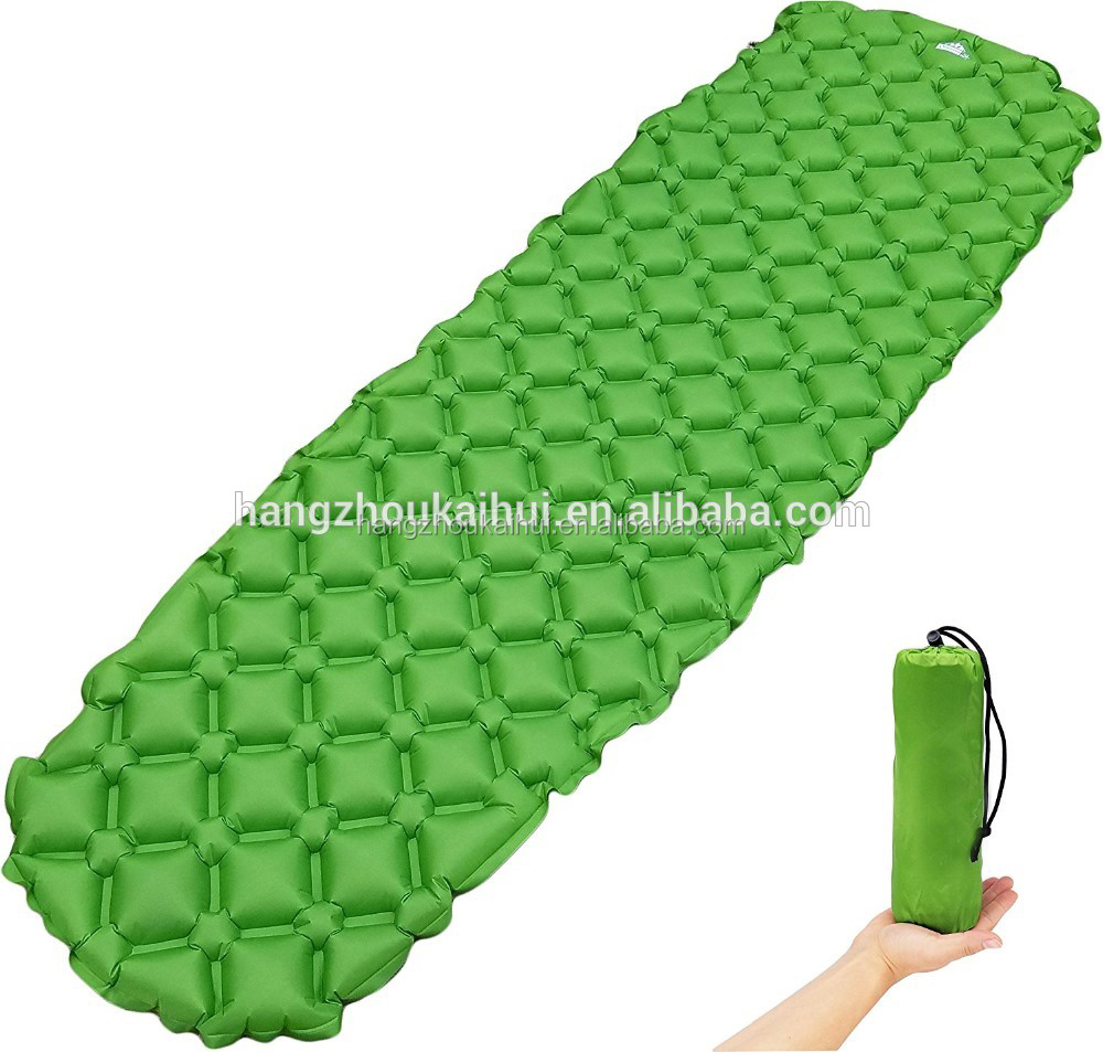 2017 Ultralight camping sleeping pad is extremely lightweight and compact.