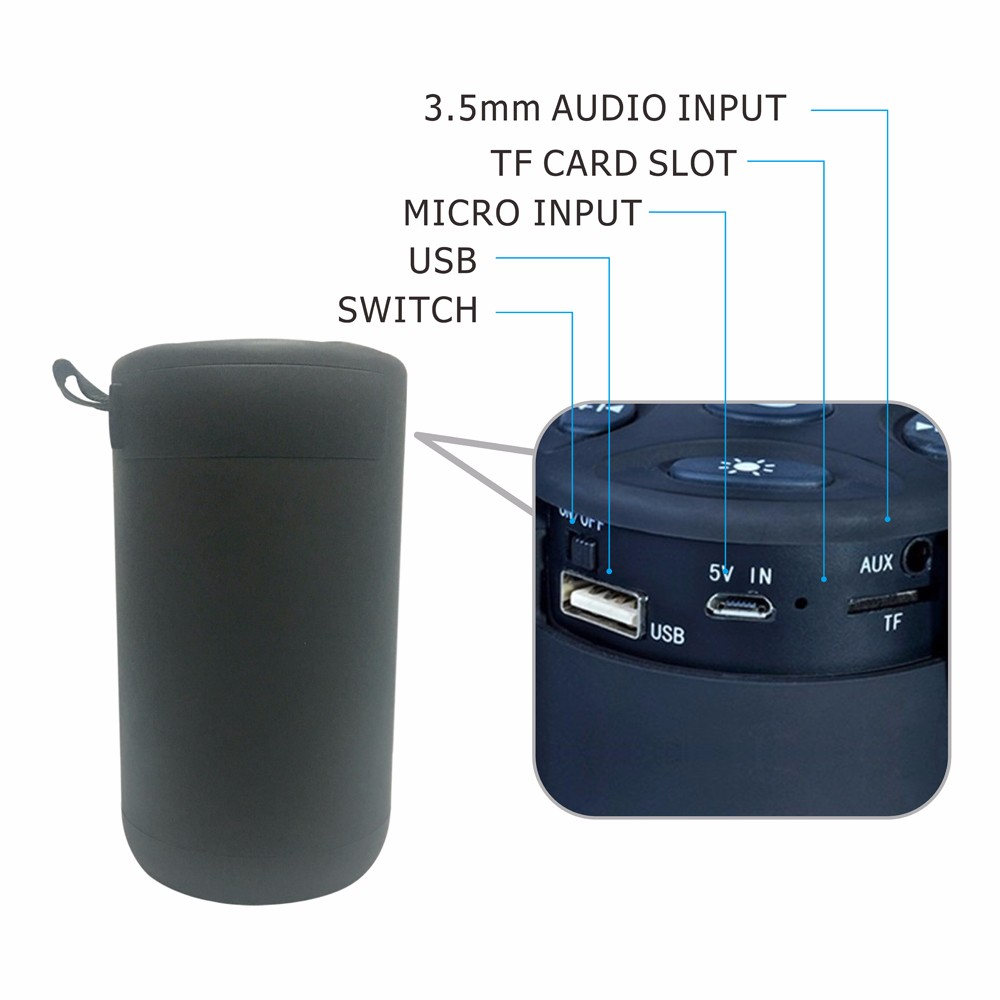waterproof wireless pulse bluetooth speaker