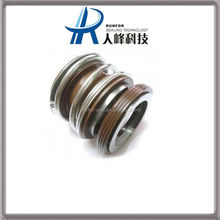 Various molded silicone mechanical seals for sealant
