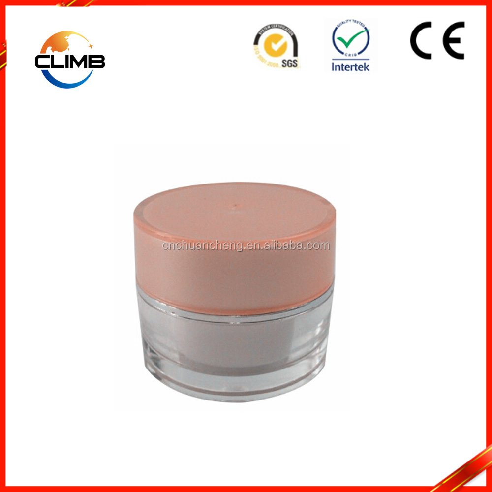 Cosmetic Containers Makeup Jars Plastic Lip Balm Pot 5 Gram