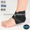 Multidirectional stretch neoprene, double closure, adjustable ankle support padded