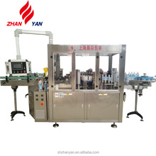 OPP / BOPP Hot Melt Glue Labeling Machine For Bottled Water Carbonated Drinks