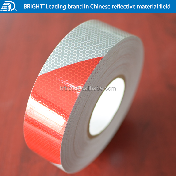 DOT-C2 compliant conspicuity acrylic reflective tape