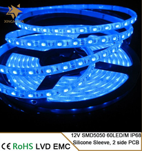 used for indoor outdoor5050 12V 60P totally waterproof LED strip light for clothes