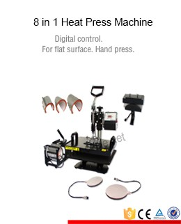 Manual small business necessary diy used multifunction heat printing equipment