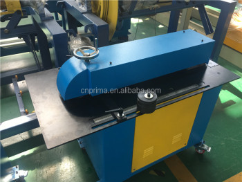 HVAC Application slitter beading machine,metal sheet slitter machine sheet cutting machine