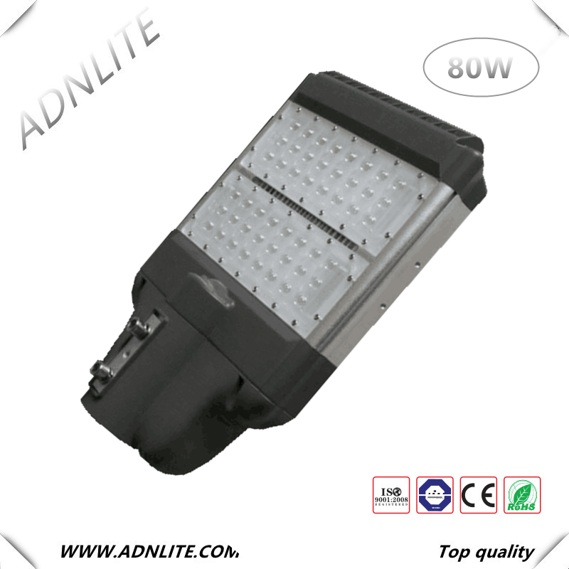 IP65 80 watt led street light manufacturers with all parts and timer switch