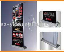 hanging electric roll up/electric scrolling roll up/advertising equipment