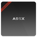 A95X android 6.0 smart tv box 1GB+8GB amlogic S905X Quad core set tv box