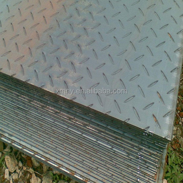 HQ235 2.0 - 12mm thickness hot rolled hot rolled checkered steel plate/ sheet length 6m