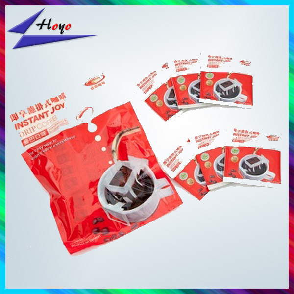 Supplier aluminum foil lined coffee sachet packaging