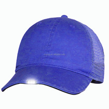 Night Fishing Light Baseball Flash Dance Glow In The Dark Hip Hop Fashion Sport Fitted Hat Led Cap for Unisex