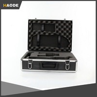 Sports Aluminum Two Pistol Gun Case