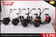 Europe Warehouse In Stock! 60V 1000W 18 inch fat tire 2 person electric scooter citycoco woqu electric bike with 2 seat