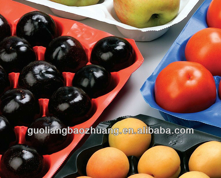 2014 New Design Customized High Quality PP Disposable Fancy Fruit Tray