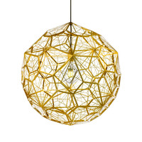 modern round shape pendant lamp in stainless steel made in China Zhongshan
