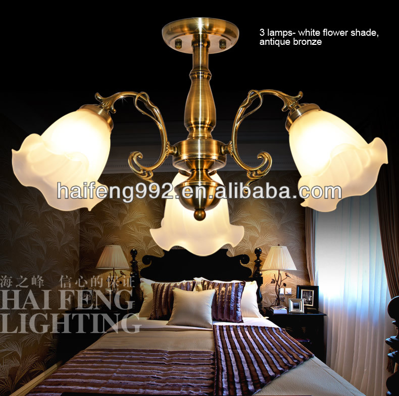Double head European wall lamp/ Antique hotel wall sconce for stair