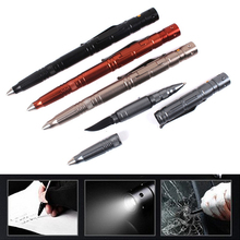 42.2g only 161mm Long 12lm LED Light 10 Hour Lighting Self Defence Tactical Pen Knife