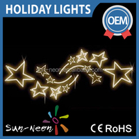holiday lighting outdoor decoration led christmas rope motif light