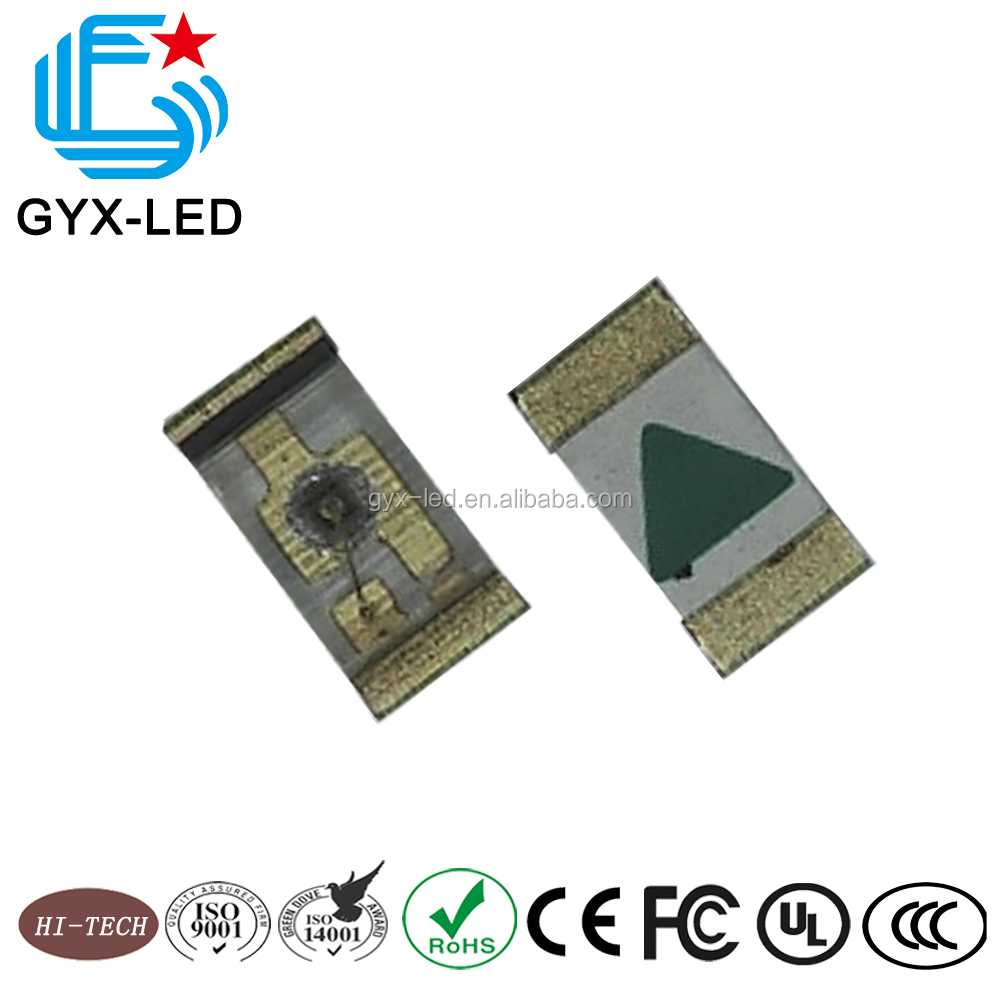 Green color China supplier manufacturer wholesale SMD full color 0603 1608 led chip
