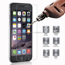 0.3mm 2.5D 9H Premium tempered Glass screen protector For iphone 5/6/6s/6 Plus/6s Plus/7/7 Plus