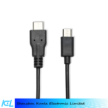 high quality type c 3.1 to 5 pin micro usb cable for android mobilephone use