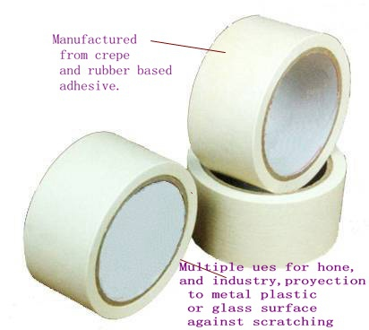 Made In China Heat Resistant Car Masking Tape