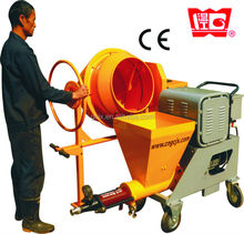 2m3/h Universial- speed wall plaster sprayer used for mortar, stucco, gyspum